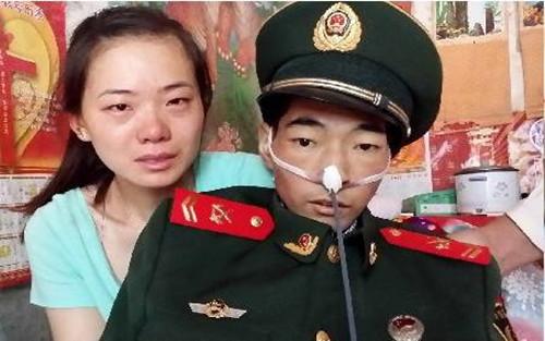 固镇武警临终前捐献眼角膜 帮助两少年成功复明